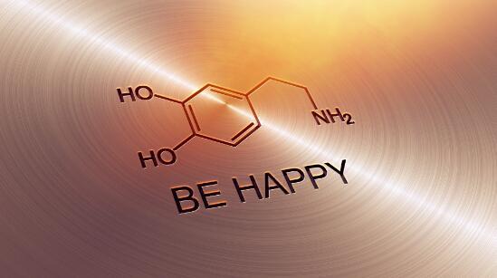 多巴胺的分子结构.
