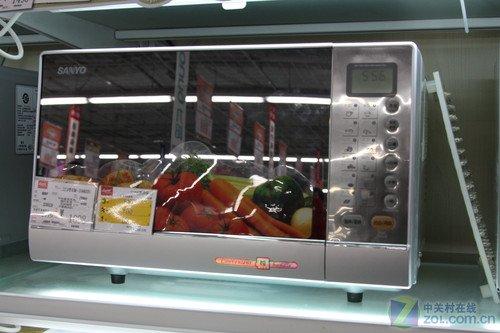 三洋微波炉售价599元 搭配多种智能菜单