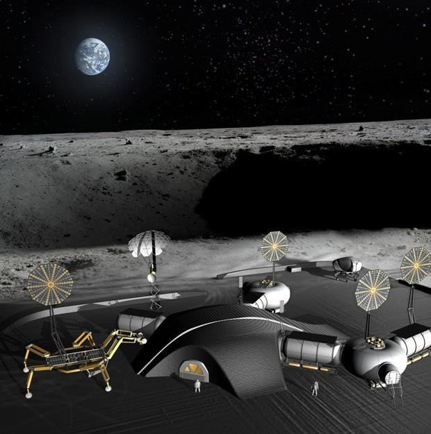 NASA科学家认为建月球基地比前往火星更经济