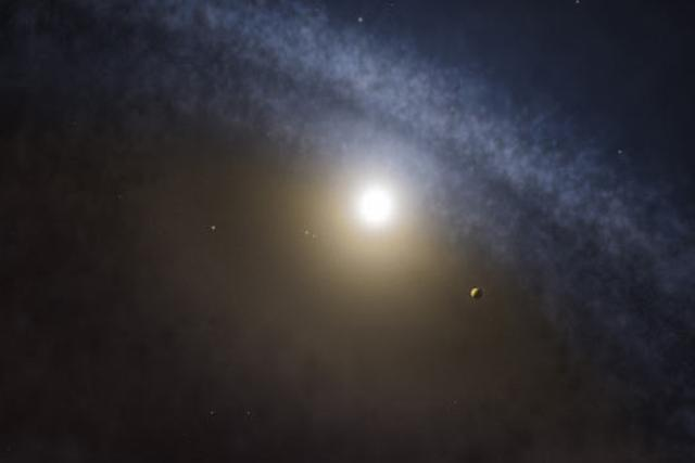 科学家发现四恒星系统中诞生大质量行星