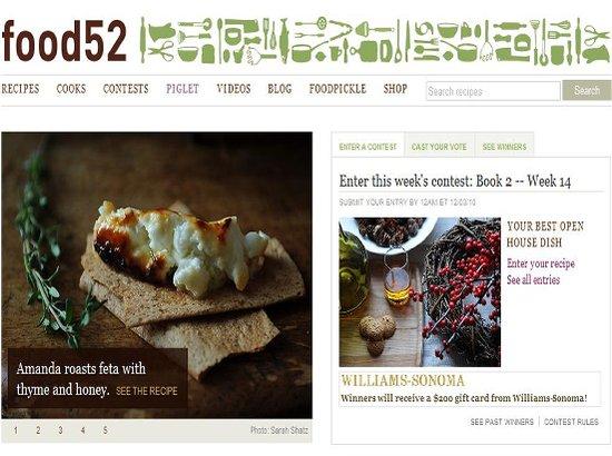 Food52:在线食谱问答社区