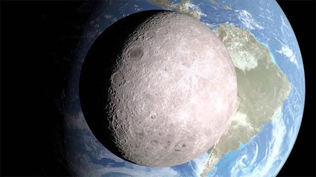 有一种神秘 叫做月球背面