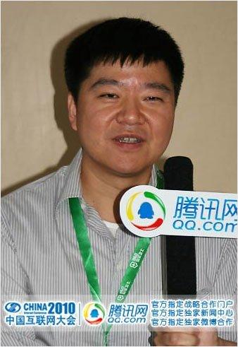 空中网创始人杨宁(腾讯科技摄)