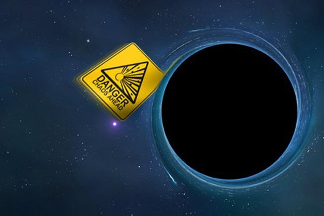 """霍金称黑洞不""""黑"""" 应该称其为""""灰洞"""""""