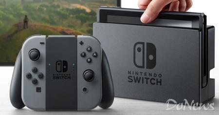 任天堂发布新一代游戏机Switch 2017年3月发售