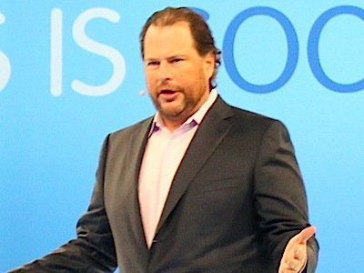 Salesforce为遭甲骨文CEO嘲弄愤怒