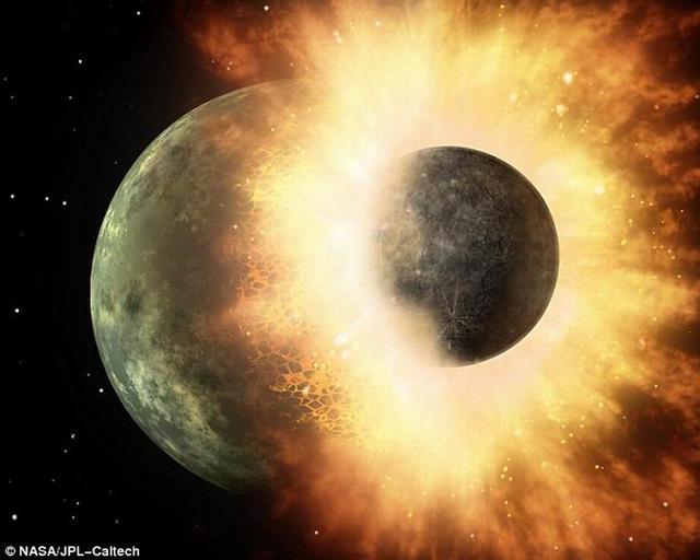 你喝的水来自于45亿年前行星之间的大碰撞