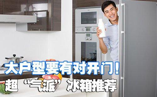 大户型首选 暑期超气派时尚电冰箱推荐