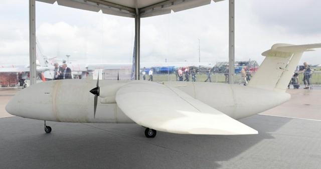 空中客车展出全球第一架3D打印飞机,它不是模型