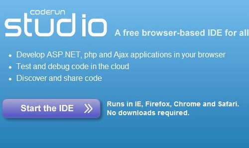 CodeRun:基于Web的IDE开发工具