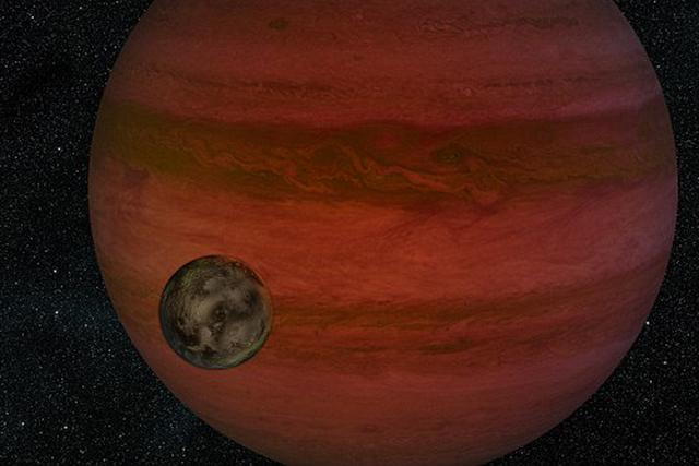 """美科学家或发现首个太阳系外的""""月亮""""哈勃空间望远镜已经24岁了"""