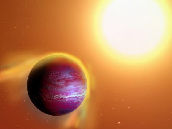 科学家发现气态系外行星正丢失质量