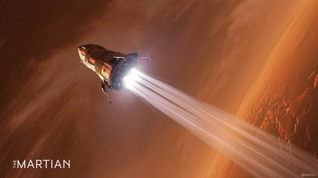 核能发动机或可将火星之旅缩短至六周