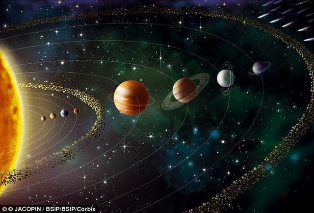太阳系曾经存在过众多类地行星