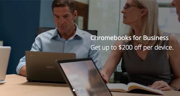 谷歌借XP退役搞促销:购Chromebook返200美元