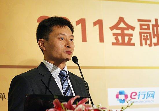 迪堡公司新业务市场部经理周凯