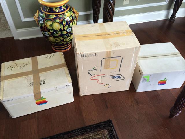 老古董Mac PC传了一辈人 30年后仍可正常工作