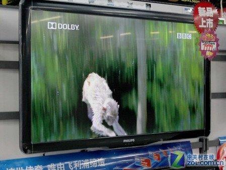 飞利浦40寸液晶电视热销6499元