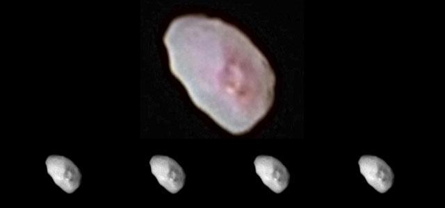 冥王星两颗小卫星新照公布 像软糖和生姜