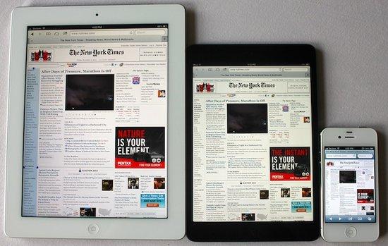 传苹果3月发布第五代iPad和第二代iPad mini