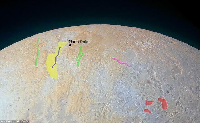 冥王星北极发现大峡谷 宽度达75公里