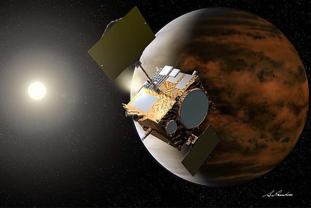 五年前入轨失败 日拂晓号今再尝试入轨金星