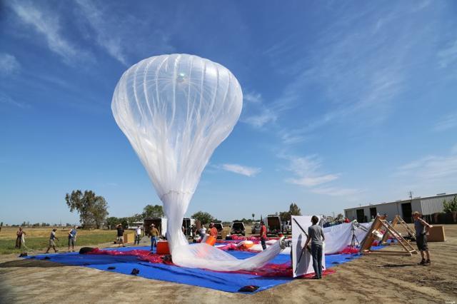 谷歌气球联网项目或在印度遭禁