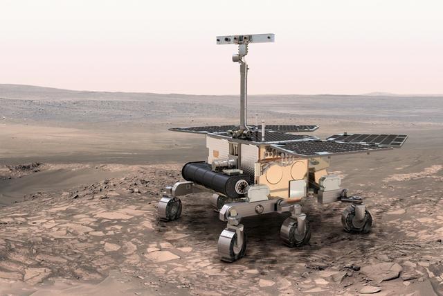 欧空局2018年将向火星发射火星车