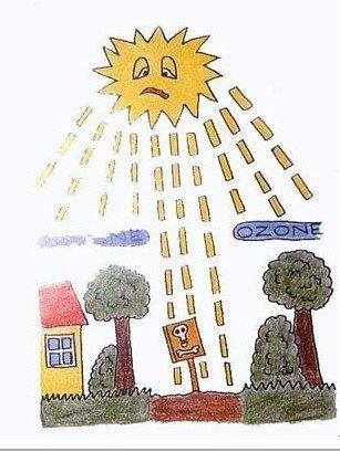 臭氧层空洞影响水生系统