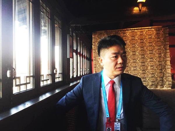 专访刘强东:假货泛滥冲击实体经济