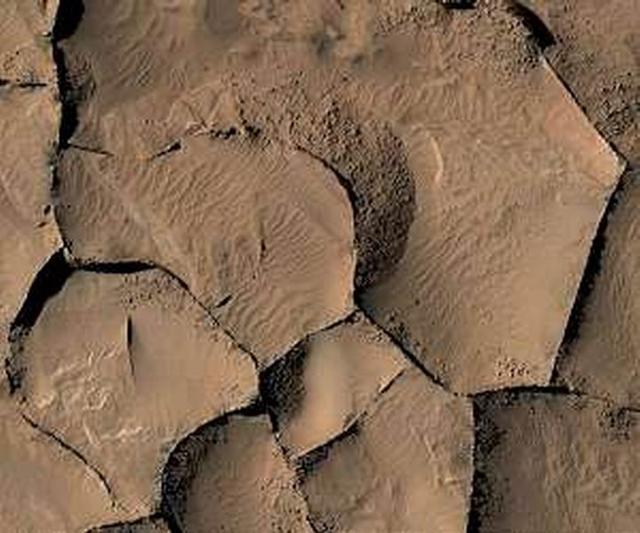 最新研究称火星山脊结构具有不同的起源