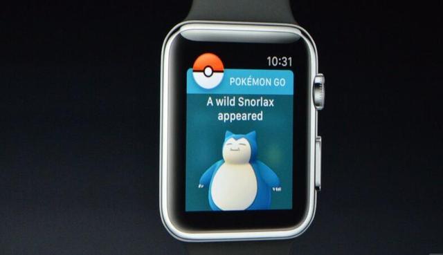 Pokemon GO辟谣:苹果手表版游戏未取消 仍在开发中