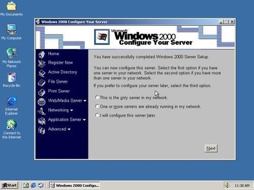 XP不算老 50万站点竟仍用Windows 2000