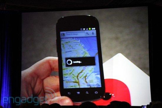 施密特在Web2.0峰会展示Nexus S智能手机