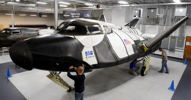 私企造迷你航天飞机成功中标NASA货运合同