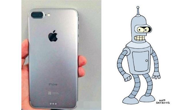 iPhone 7长这样?真的有双摄像头,但没Home键