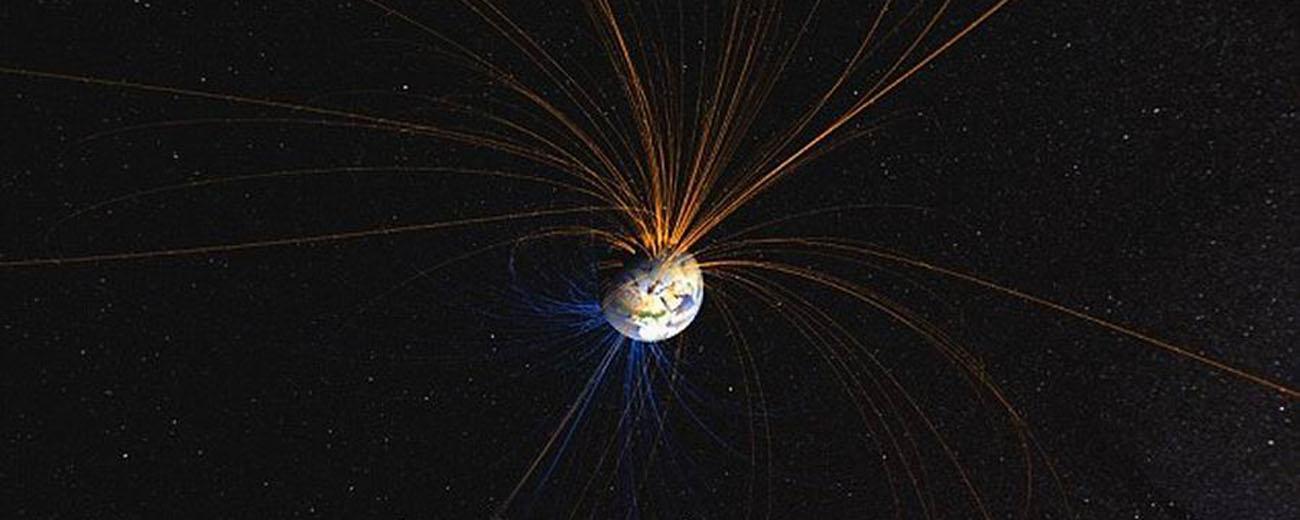 太空等离子体与地球磁场可制造磁声波