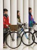 骑自行车环保出游