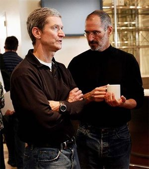 苹果宣布CEO乔布斯辞职 COO库克接任