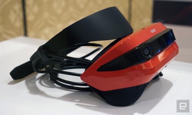 PC VR迎来低价时代?宏碁发布了一款300美元的头盔