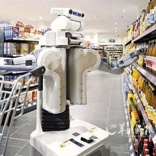 """德国造出会""""自学""""的机器人"""