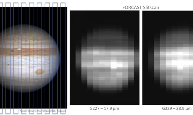 NASA同温层红外天文台捕捉到的木星图像
