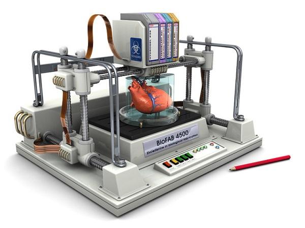 科学家正在考虑用3D打印技术打印心脏