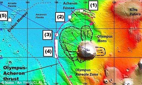 NASA发现火星板块运动 生命或真实存在(组图)