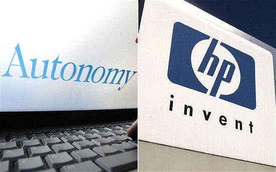 传Autonomy和EDS成为收购目标 惠普股价大涨4%