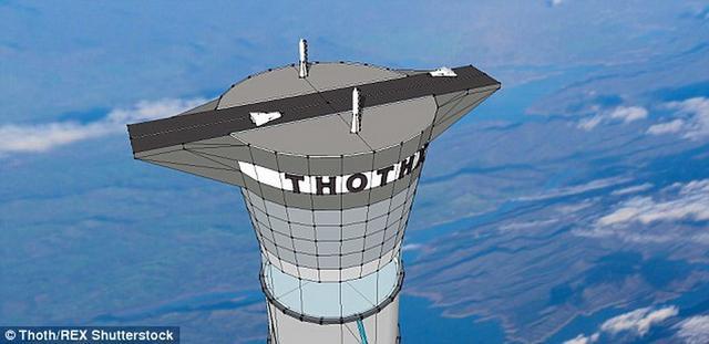加拿大公司拟造太空电梯 高度达两万米