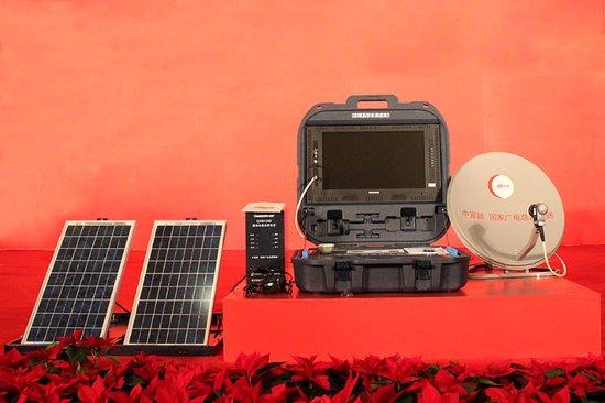 长虹专为牧民研发太阳能直播卫星电视(组图)