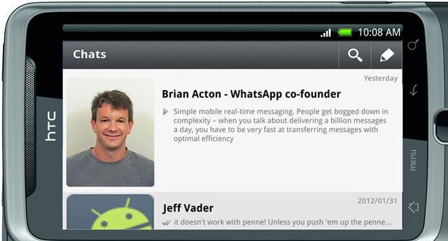 Facebook曾拒绝WhatsApp联合创始人求职
