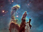 组图:哈勃望远镜25周年绚美太空图像精选