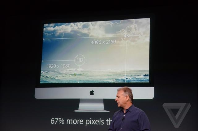 苹果超清屏iMac发布 分辨率达到5K级别